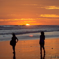 Sunset on Bengkulu beach
